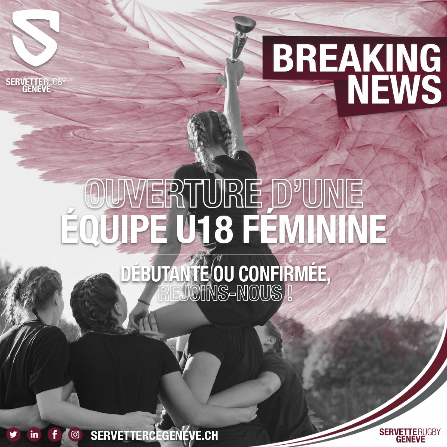 Le Servette Rugby ouvre son EQUIPE FEMININE !
